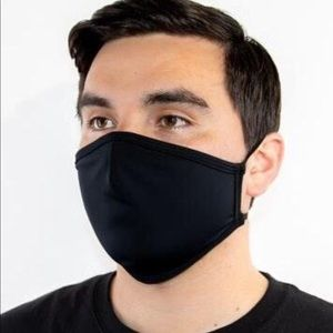 Urban Outfitters Accessories - Black face mask with red strings
